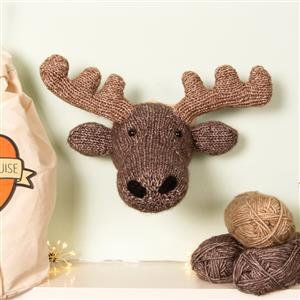 Sincerely Louise Mini Moose Head Knitting Kit
