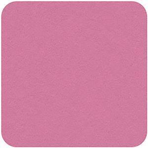 Felt Square in Flamingo 22.8x22.8cm (9x9