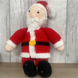Father Christmas Toy Crochet Kit