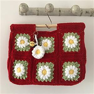 Adventures in Crafting Poppy Daisy Meadow Bag Kit