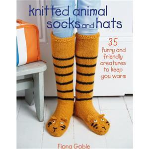 Knitted Animal Socks & Hats Book By Fiona Goble