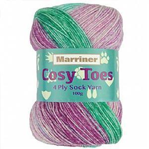 Marriner Jellyfish Cosy Toes 4 Ply Yarn 100g