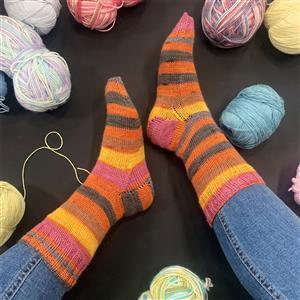 Marriner Meerkat Cosy Toes Sock Kit