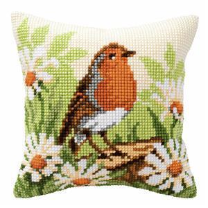 Robin Needlepoint Cushion Kit