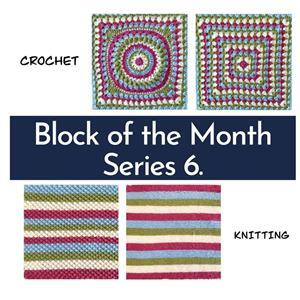 The Crafty Co Crochet Series Six BOM Blanket Kit