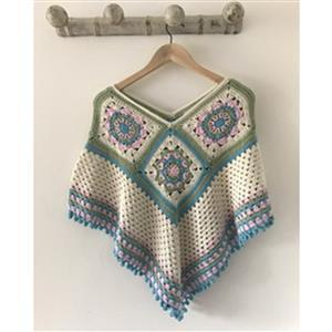 Adventures in Crafting Ice Cream Summer Nights Crochet Poncho  Kit