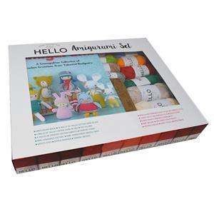 HELLO Crochet Project Set; Various Designer Amigurumi Gift Set