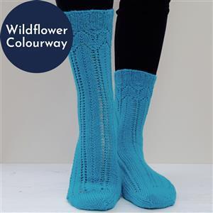 Winwick Mum Wildflower Carousel Sock Kit