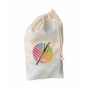 Twink Knits Crochet Cotton Project Bag