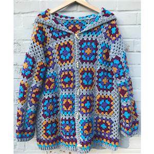 Adventures in Crafting Rainbow Adult's Casual Granny Cardie Kit