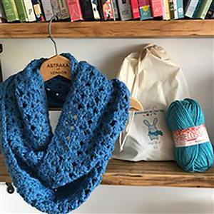 Adventures in Crafting Totally Teal Cowl Kit