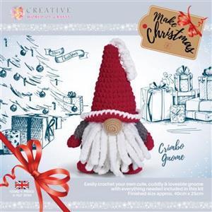 Knitty Critters Red Chrimbo Gnome Kit