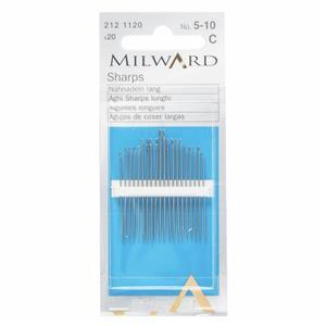 Hand Sewing Needles, Sharps Nos.5-10 (20 Pieces)