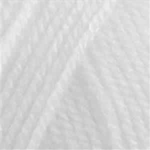 Sirdar White Hayfield Bonus DK Yarn 100g