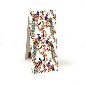 Oriental Peacock Magnetic Bookmark