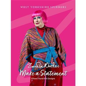 WYS Zandra Rhodes Make a Statement Pattern Book