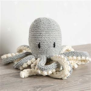 Wool Couture Grey Robyn Octopus Knitting Kit