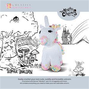 Knitty Critters Sophia Unicorn Kit