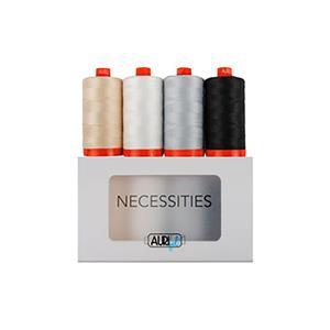 Aurifil Necessities Collection, 1300m On Each.