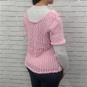Marriner Pale Pink Lace Back Top Kit