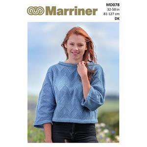 Marriner Zig Zag Sweater in DK Yarn Knitting Pattern