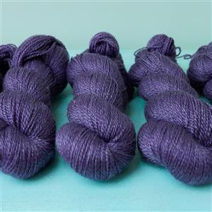 Woolly Chic Purple HeartSpun 4 Ply Yarn 100g