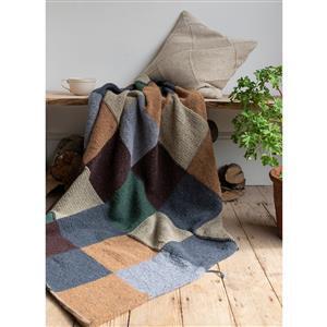 Rowan Erica Knight Indoors Patchwork Blanket Yarn Pack