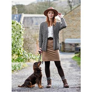 WYS Ingleton Ladies Multiway Ripple Cardigan Yarn Pack (28-50in)