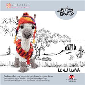 Knitty Critters Lulu Llama Kit