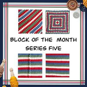 The Crafty Co Knitting Series Five BOM Blanket Kit