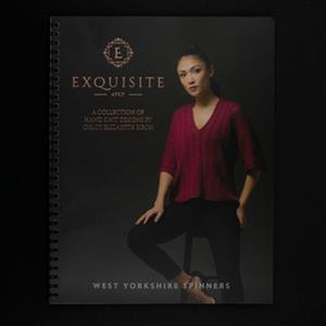 WYS Exquisite  4ply pattern book - Chloe Birch Collection
