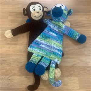 Patons Monkeys Flat Toys Crochet Kit