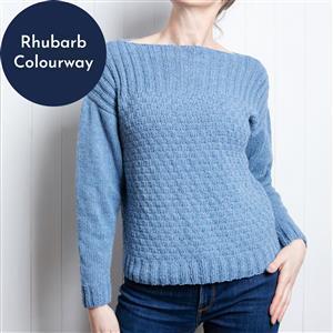 Wool Couture Rhubarb Summer Jumper Knitting Kit: Large/Xlarge