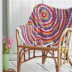 Rainbow Mandala Blanket Yarn Pack