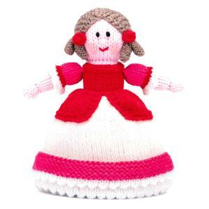 Sleeping Beauty Topsy-Turvy  Knitted Doll Yarn Pack