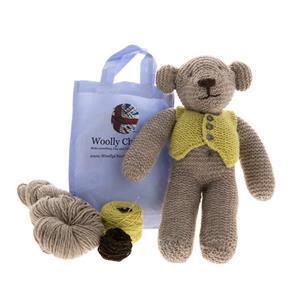 Woolly Chic Teddy Bear Knitting Kit
