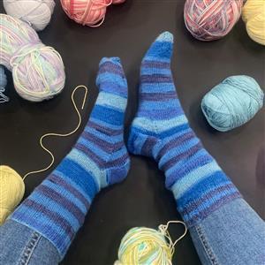Marriner Dolphin Cosy Toes Sock Kit