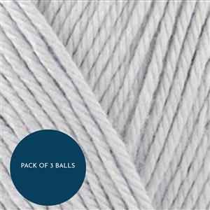 Stylecraft Silver Naturals Bamboo+Cotton DK 100g: Pack of 3 Balls