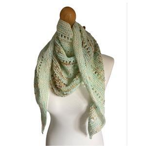 Twink Knits Speckled Egg Amy Shawl Kit