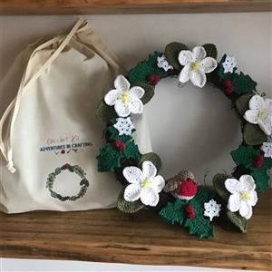 Adventures in Crafting Winter Wreath Kit