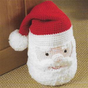 Santa Doorstop Crochet Kit