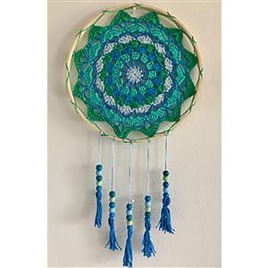 Adventures in Crafting Sea Blues Dreamcatcher Kit
