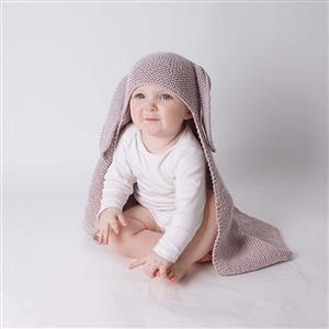 Wool Couture Mink Mabel Baby Blanket Knitting Kit