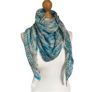 Twink Knits Blue Skies Shawl Kit