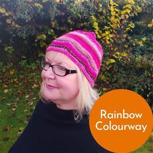 Anniken Allis Rainbow Beaded Henwood Hat Kit