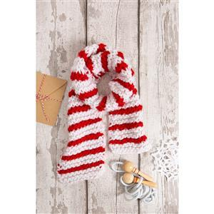 Wool Couture Child Christmas Scarf Knitting Kit