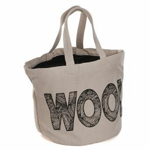 Bucket Bag 'Wool' Logo