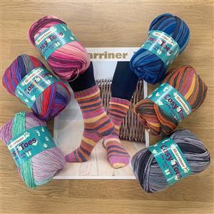 Marriner Six Pairs of Cosy Toes Socks Kit - ONE PAIR FREE