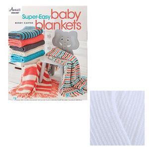 Super-Easy Baby Blankets Book by Bendy Carter: with 100g of  DK Yarn FREE
