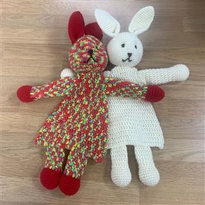 Patons Rabbits Flat Toys Crochet Kit